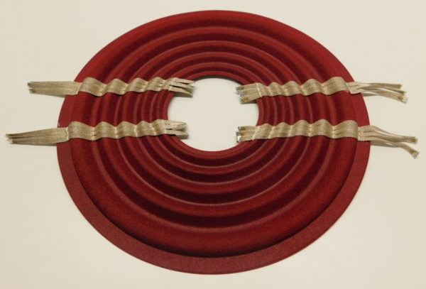 "Red Progressive 10"" x 3"" Spider with Leads"